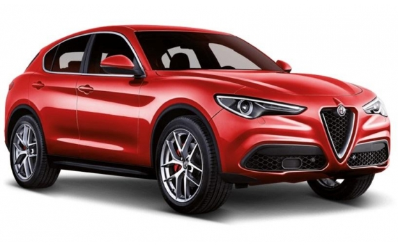 VÉHICULES NEUFS <strong>ALFA ROMEO</strong> en stock<em>STELVIO  2.2 210 CV AT8 Q4  MY 19 SPORT EDITION / TOIT PANORAMIQUE + SELLERIE CUIR SPORT HAVANE</em>