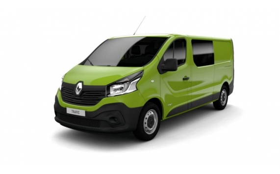 VÉHICULES NEUFS <strong>RENAULT</strong> en stock<em>TRAFIC DOUBLE CABINE  1.6 ENERGY DCI 145 CV L2H1 GRAND CONFORT</em>